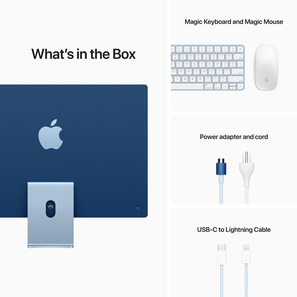 iMac (4.5K Retina, 24-inch, 2021): M1 chip with 8-core CPU ...