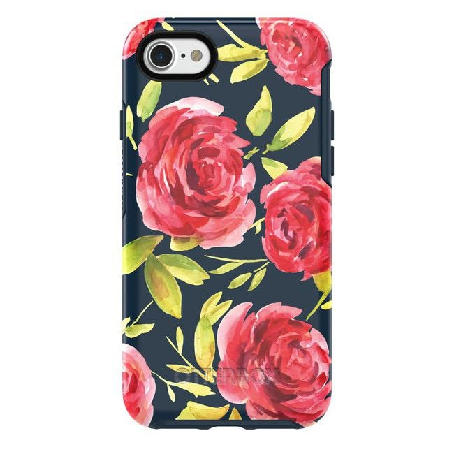 Otterbox Symmetry Case for iPhone SE 2020 8/7 - Bouquet