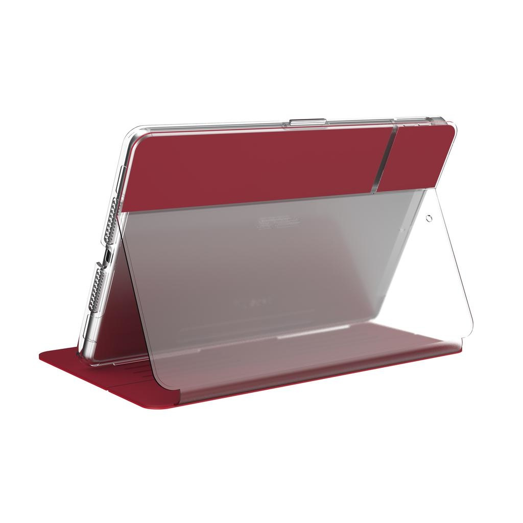 Speck Balance Folio Clear for 10.2-inch iPad - Red / Clear