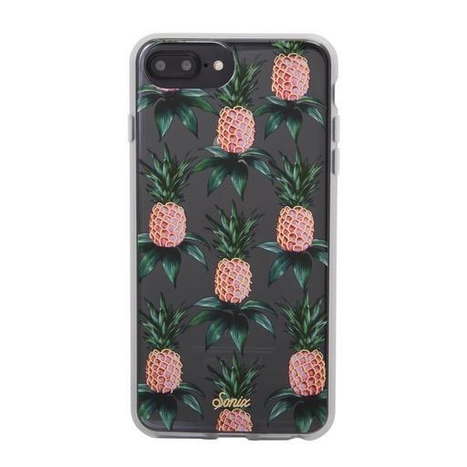 Sonix Clear Coat Case for iPhone 8/7/6 Plus - Pink Pineapple