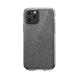 [129893-5636] Speck Presidio Clear and Glitter for iPhone 11 Pro  -  Gold