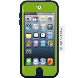 [77-25219] Otterbox Defender Case for iPod Touch 5G Navy / Green