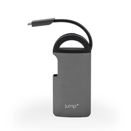 [JP-UCN3256] Jump+ USB-C Multiport Adapter  - USB-C/HDMI/Ethernet/USB 3.0 x3/SD&Micro