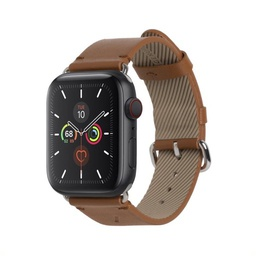 [STRAP-AW-L-BRN] Native Union 44mm Classic Strap for Apple Watch - Brown