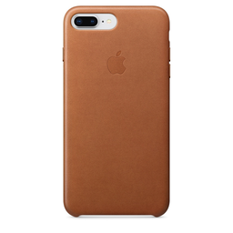 [MQHK2ZM/A] Apple iPhone 8/7 Plus Leather Case - Saddle Brown