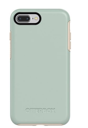 [77-56874] Otterbox Symmetry Case for iPhone 8/7 Plus - Muted Water (Aqua Blue)