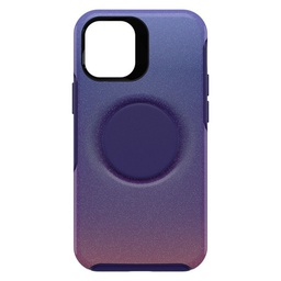 [77-65391] Otterbox Otter + Pop Symmetry Case with Swappable PopTop PopUp for iPhone 12 mini - Violet Dusk