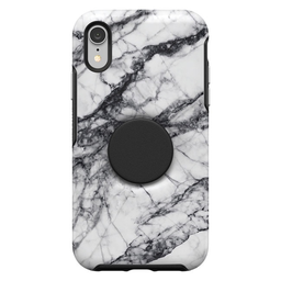 [77-61727] Otterbox + Pop Symmetry iPhone XR - White Marble