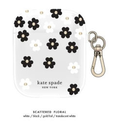 [KSAP-001-SFLBW] kate spade Flexible Case Scattered Flowers Clear for Airpods