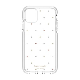 [KSIPH-135-PDGPC] kate spade Defensive Case for iPhone 11 Pro Max - Pin Dot