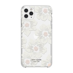 [KSIPH-130-HHCCS] kate spade Protective Case for iPhone 11 Pro - Hollyhock Floral
