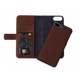[D6IPO7PLWC4CBN] Decoded 2-in-1 Wallet Case for iPhone 8/7/6 Plus- Cinnamon Brown